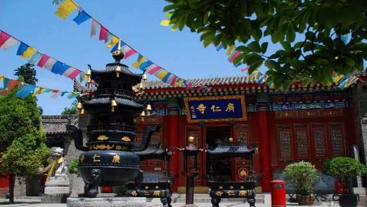 我不是佛教徒,可是我从心里喜欢广仁寺。