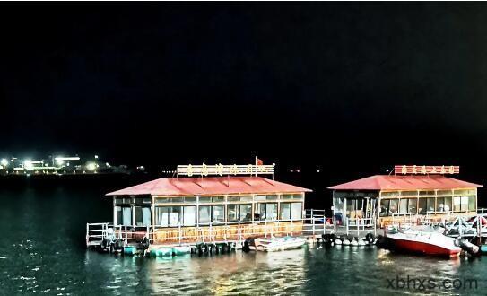 珠海金湾区最繁华地方,月夜太美了!