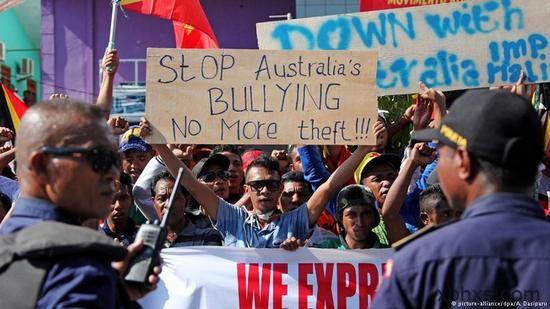 东帝汶要求重划海洋边界 澳称仲裁庭无司法权