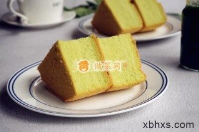 菠菜戚风蛋糕怎么做好吃 菠菜戚风蛋糕最正宗的做法