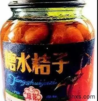 一瓶黄桃罐头
