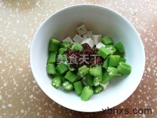 凉拌秋葵豆腐怎么做 凉拌秋葵豆腐的做法