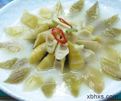 海宁咸白菜煮竹笋的做法