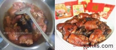 发菜蚝豉焖猪手