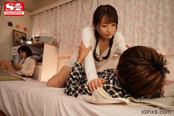 """我上了女友的两个室友!""""葵つかさ x 乙白さやか""""三人行NTR,背叛闺蜜也要高潮!"""