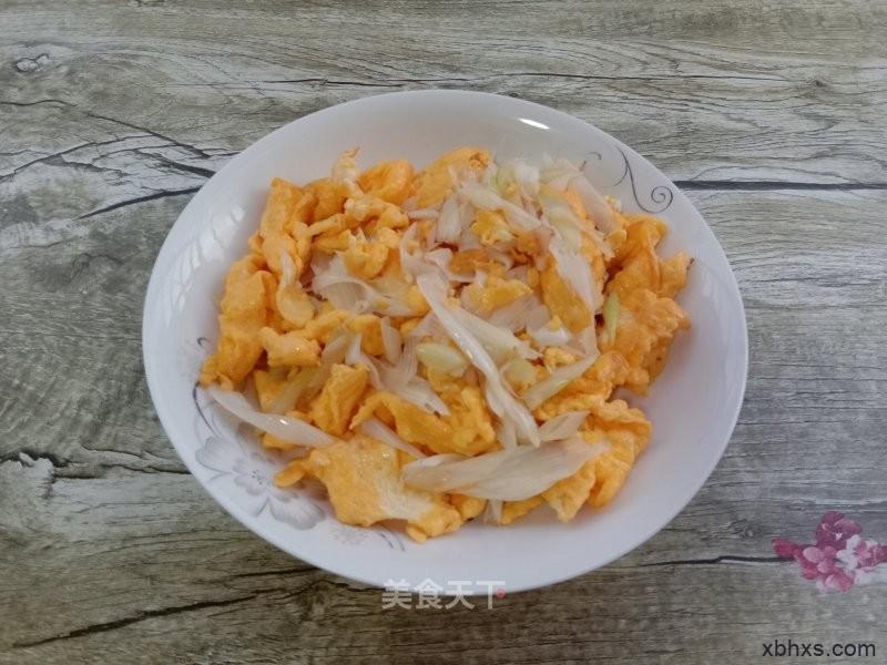 家常大葱炒鸡蛋的做法 大葱炒鸡蛋怎么做好吃