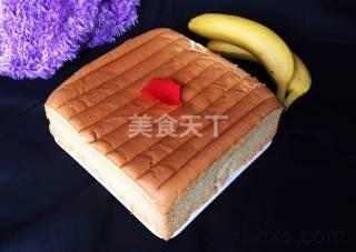 十寸香蕉泥戚风蛋糕怎么做好吃 家常十寸香蕉泥戚风蛋糕的做法