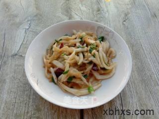 家常炝炒白菜梗的做法 炝炒白菜梗怎么做好吃