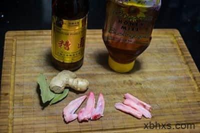 蜂蜜糟卤浸三宝的做法