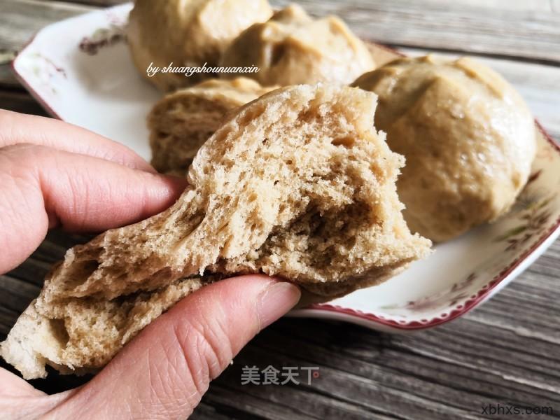 红糖全麦馒头最正宗的做法 家常红糖全麦馒头的做法