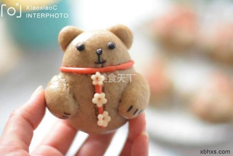 萌萌哒小熊馒头怎么做好吃 家常萌萌哒小熊馒头的做法