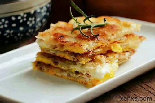 简单早餐 葱油饼的做法—— 家庭版做法