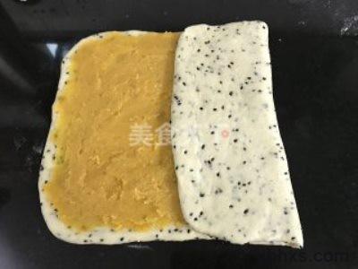 家常黑芝麻红薯扭扭面包的做法 黑芝麻红薯扭扭面包怎么做好吃