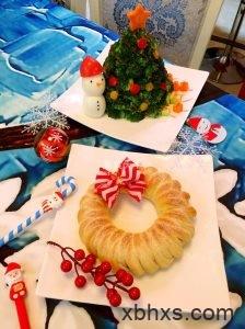 圣诞花环面包怎么做 圣诞花环面包的做法