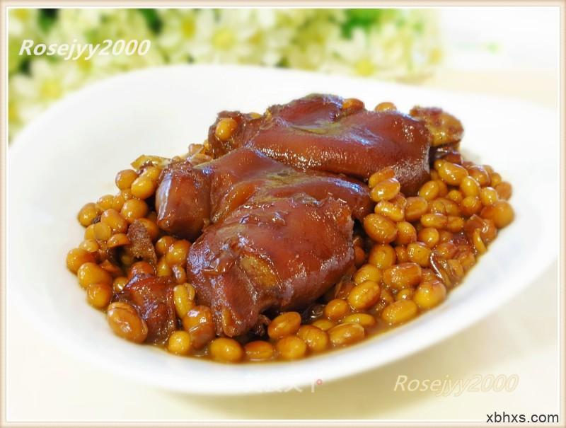 黄豆焖猪手怎么做好吃 黄豆焖猪手最正宗的做法