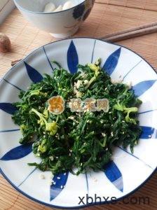 凉拌芹菜叶怎么做好吃 家常凉拌芹菜叶的做法